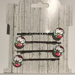 Accessories - Hello Kitty Bobby Pin Bundle (4 pins)